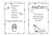 mother´s day card