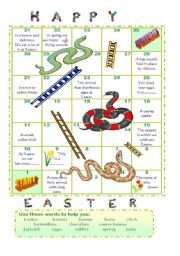 Easter snakes and ladders (2)