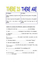 english teaching worksheets there is there are. Black Bedroom Furniture Sets. Home Design Ideas