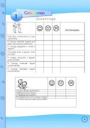 English Worksheets: Greetings - page 6
