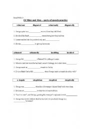 Printables Of Mice And Men Worksheets english worksheets of mice and men parts speech practice worksheet practice
