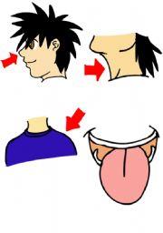 English Worksheets: body parts3