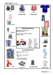 Articles of CLothing2_Colors_Winter&Summer CLothes