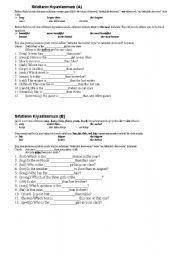 English Worksheets: 9th worksheet