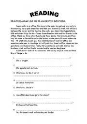 Intermediate grammar review test