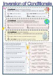 Inversion worksheets