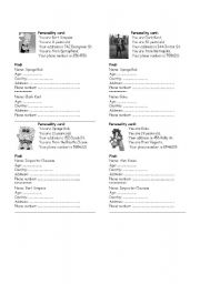 English Worksheets: What�s your ...?