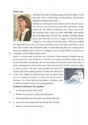 English Worksheets: Yawn