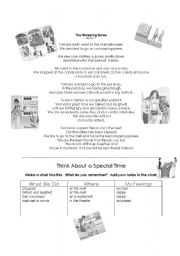 English Worksheets: A day at the Mall