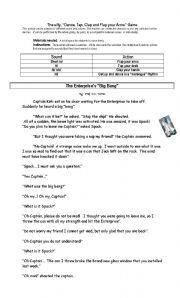 English Worksheets: The Big Bang