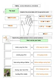 Printables Personal Hygiene Worksheets english teaching worksheets personal hygiene hygiene