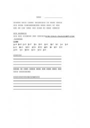 English Worksheets: Code Activity