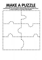 It's just a picture of Superb Make Your Own Puzzle Printable