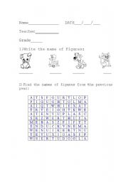 English Worksheets: Animals.