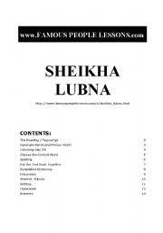 English Worksheets: famouc