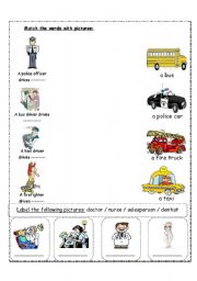 Printables Community Helpers Worksheets english teaching worksheets community helpers helpers