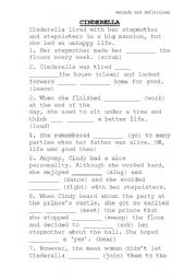 picture regarding Cinderella Story Printable named CINDERELLA Tale - ESL worksheet by way of danielle_trainer
