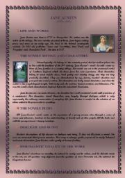 Jane Austen - Life, Works and Literary Style