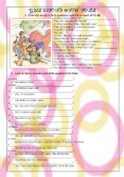 English Worksheets: The present of TO BE. Questions