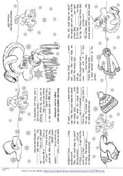 graphic about The Mitten Printable Book identify The Mitten (Tale Mini Guide) - ESL worksheet as a result of Alenka