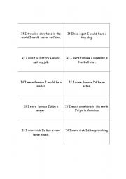 English worksheet: Conditionals Mingle Activity