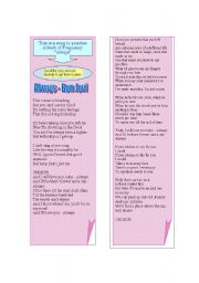 English Worksheets: Song Always by Bon Jovi