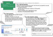 English Worksheets: Helpsheet : How to create a screenshot