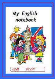 English Worksheets: My English notebook