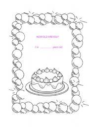 my birthday cake esl worksheet by nataly75h. Black Bedroom Furniture Sets. Home Design Ideas