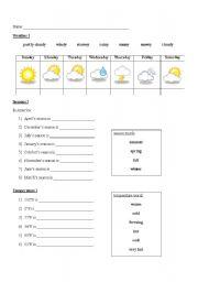 english teaching worksheets temperature. Black Bedroom Furniture Sets. Home Design Ideas