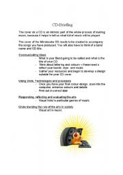 English Worksheets: CD cover