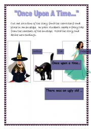 Create a fairy story sequencing cards