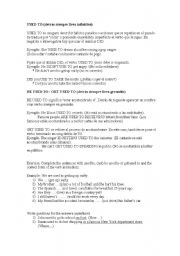 English Worksheet: DIFFERENCE BETWEEN