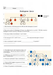 Pedigree Worksheet Pdf Also Equivalent Fractions In Pictures Worksheet ...
