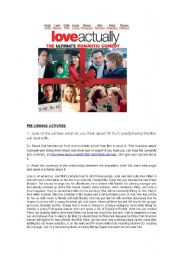 English Worksheets: film LOVE ACTUALLY