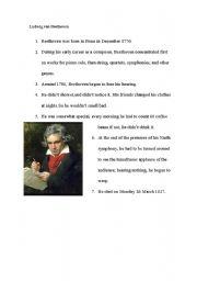 English Worksheets: MUSIK