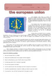 european union worksheet Follow the instructions below: click on the interactive map of europe from the   activity 2: comparing the eu countries briefing: european union  (you can  also choose to fill in the data on this worksheet using your word processor but be .