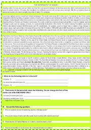 English Worksheet: READING AND LISTENING ACTIVITY ON  ESPERANTO* OF MONEY  WITH VOCABULARY CHART ;) DIAMOND FOR ADVANCE STUDENTS