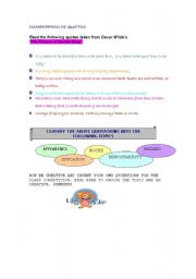 English Worksheets: COMPETITION OF QUOTES