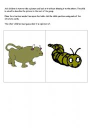 English Worksheets: Describing/Guessing Pictures