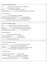 English Worksheet: grammar: if/unless, may/might