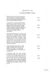 English Worksheets: Match arguement