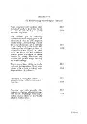 English Worksheets: Match arguement pro vs con