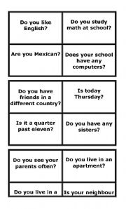 English Worksheets: Useful questions and answers