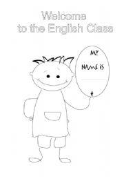 English Worksheet: Portfolio Cover
