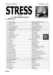 Stress Esl Worksheet By Jennifer1082