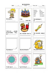 English Worksheets: Introduce my self
