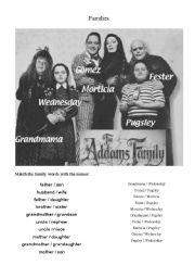 Addams Family Names