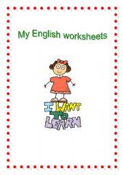 English Worksheets: My English worksheets