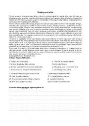 English Worksheets: Creating a Wine list